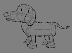 a dog-shaped object by antiderivativebanana