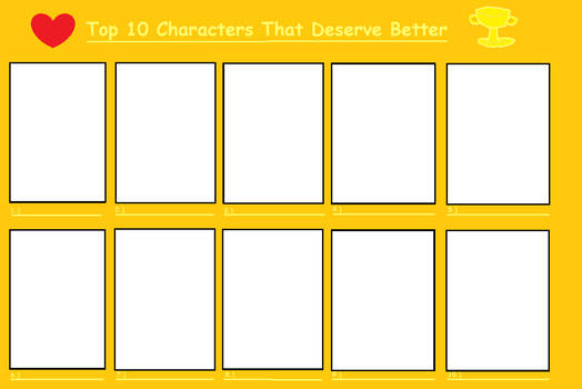 My Meme: Top 10 Characters that Deserve Better