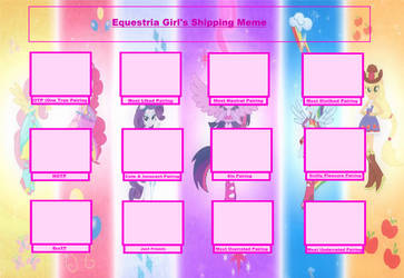 Ultimate Equestria Girls Shipping Meme by AmethystQueen25