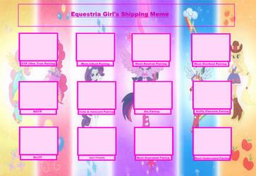 Ultimate Equestria Girls Shipping Meme by MiraculousQueen23
