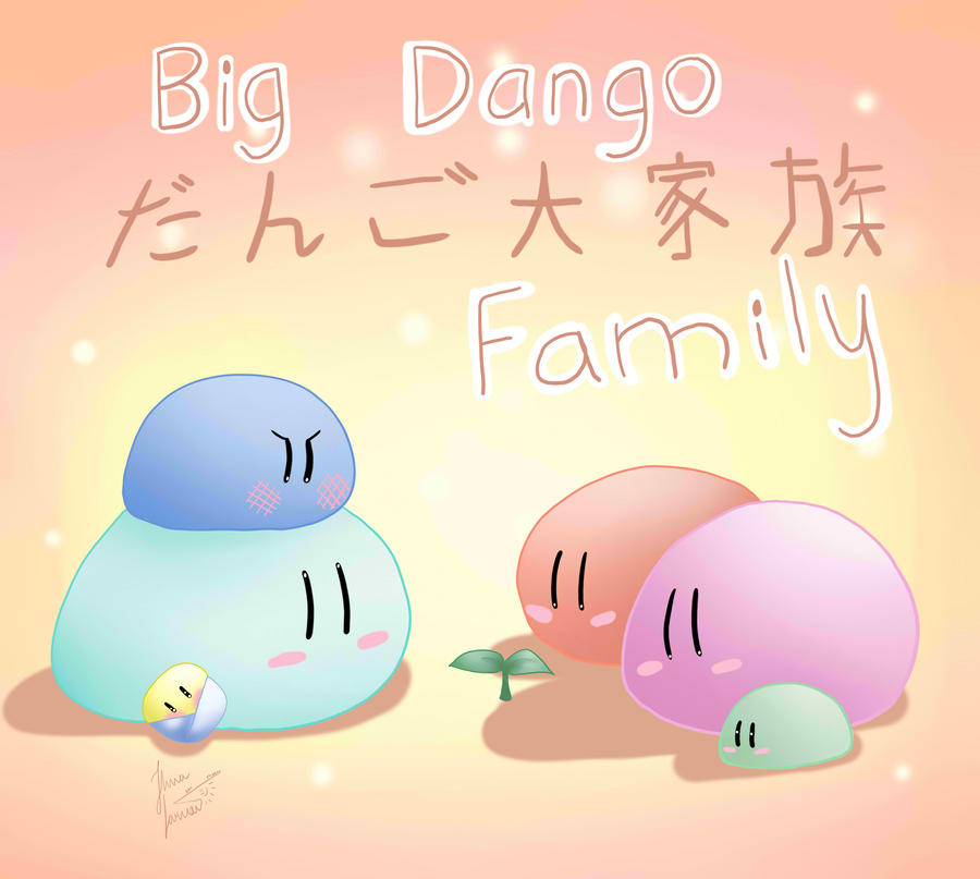 Dango Daikazoku by 96jola4847Dango Family Wallpapers