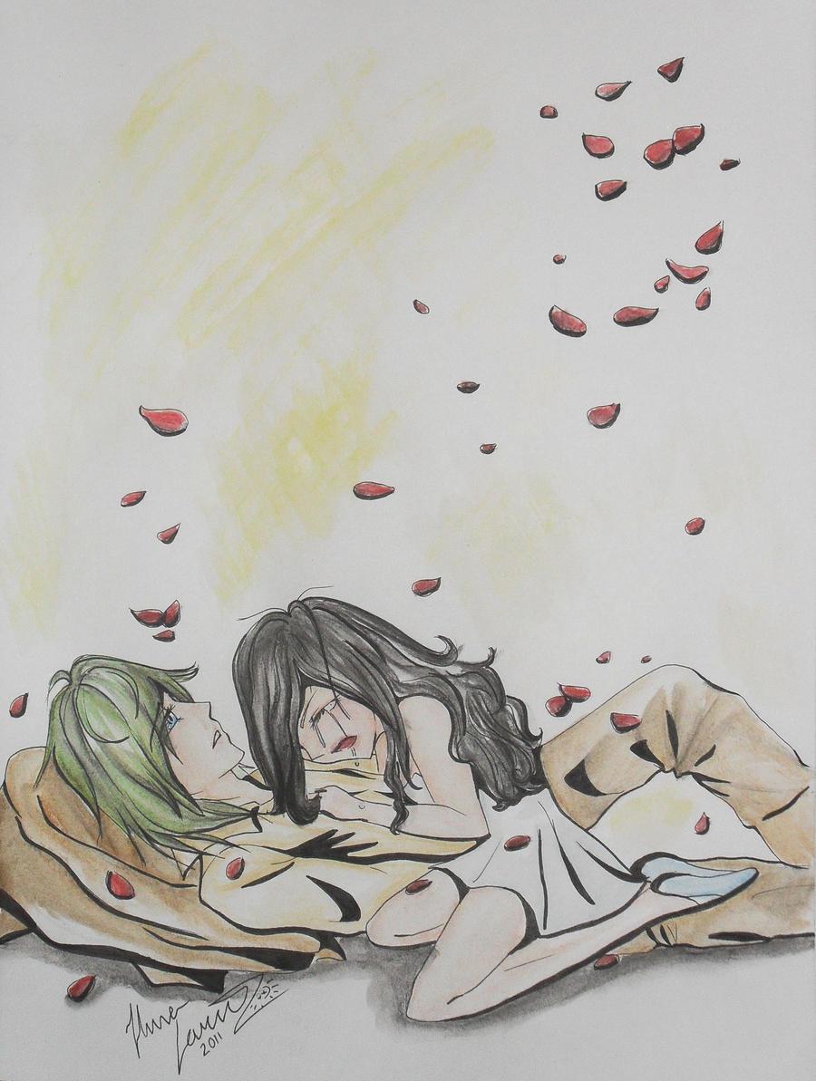 Sad Love By 96jola4847 On DeviantArt Depressing Drawings