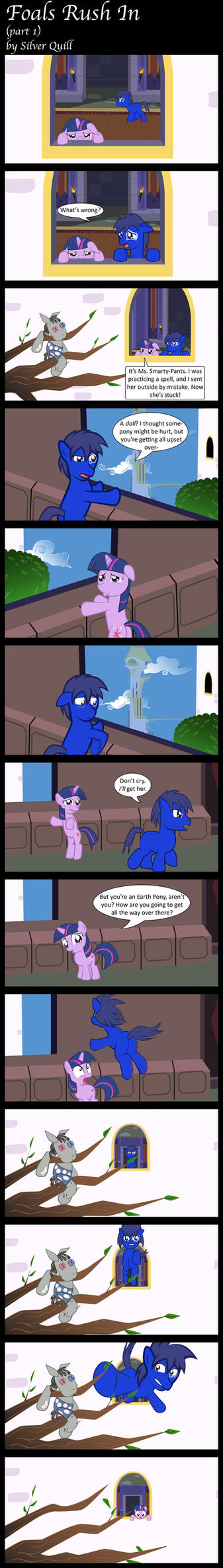 Foals Rush In (part 1) by MLP-Silver-Quill