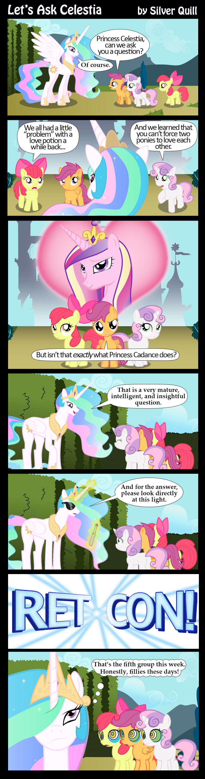 Let's Ask Celestia by MLP-Silver-Quill