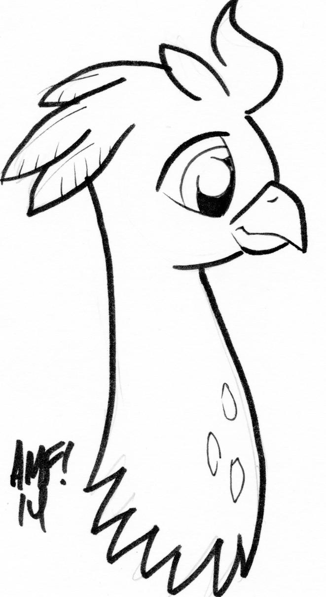Tony Fleecs Draws Silver Quill by MLP-Silver-Quill