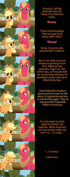 Applejack and Big Mac Say Goodnight by MLP-Silver-Quill