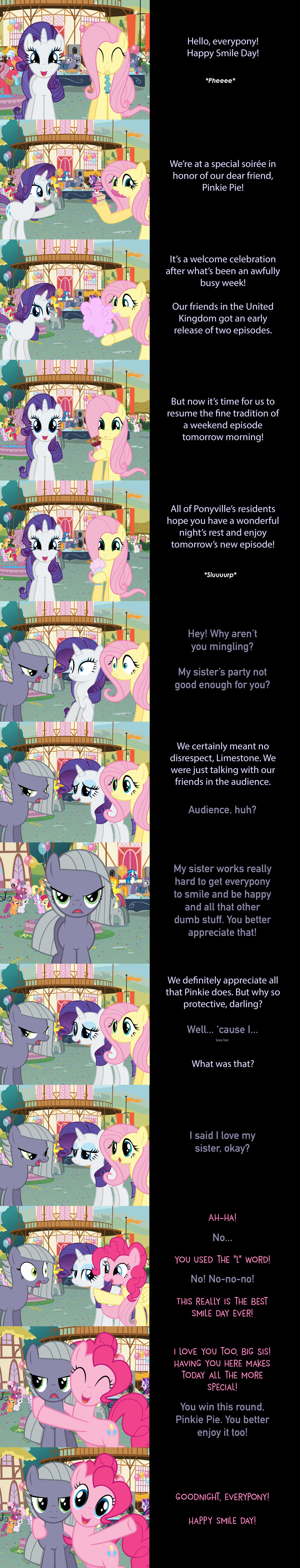 Rarity and Fluttershy Say Goodnight