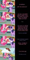 Pinkie Pie Says Goodnight: Topsy Turvy
