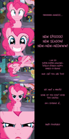 Pinkie Pie Says Goodnight: Excited