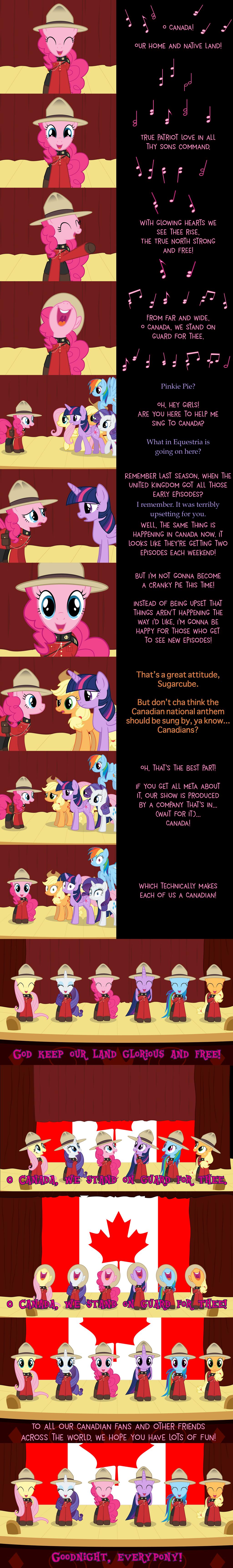 Pinkie Pie Says Goodnight: O Canada