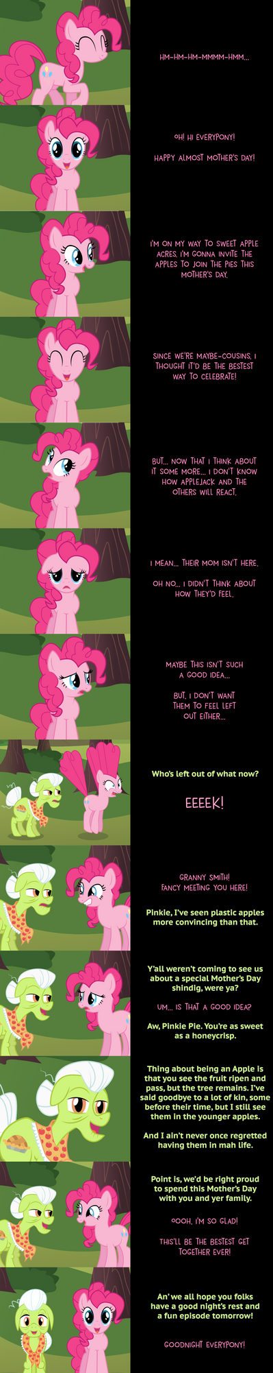 Pinkie Pie Says Goodnight: Get Together by MLP-Silver-Quill