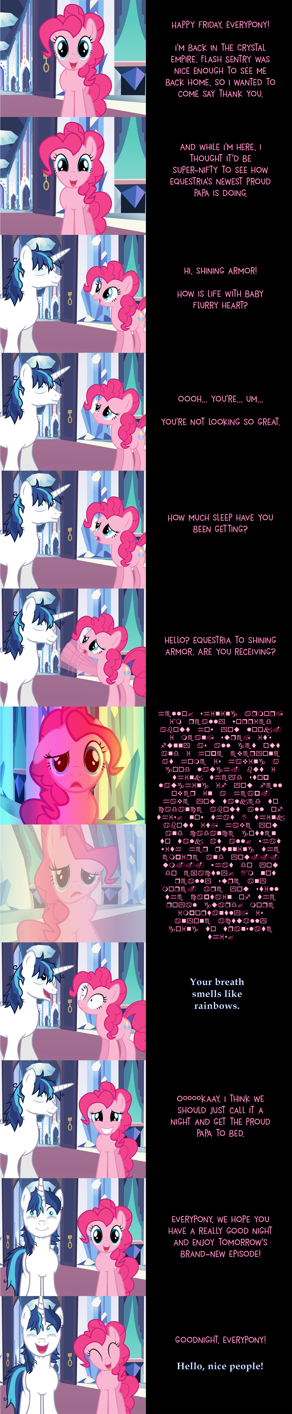 Pinkie Pie Says Goodnight: Sleepless