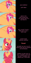 Mini Pinkie Goodnight: Transporation by MLP-Silver-Quill