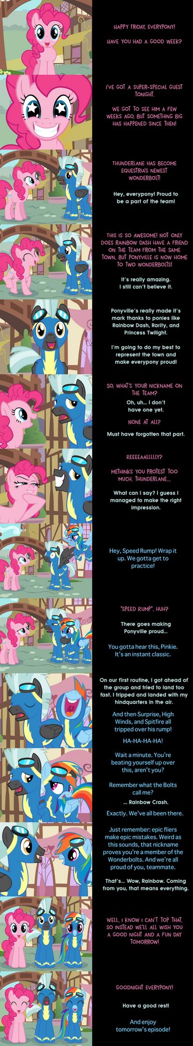 Pinkie Pie Says Goodnight: Wonder Blunder by MLP-Silver-Quill