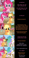Pinkie Pie Says Goodnight: Apple Core