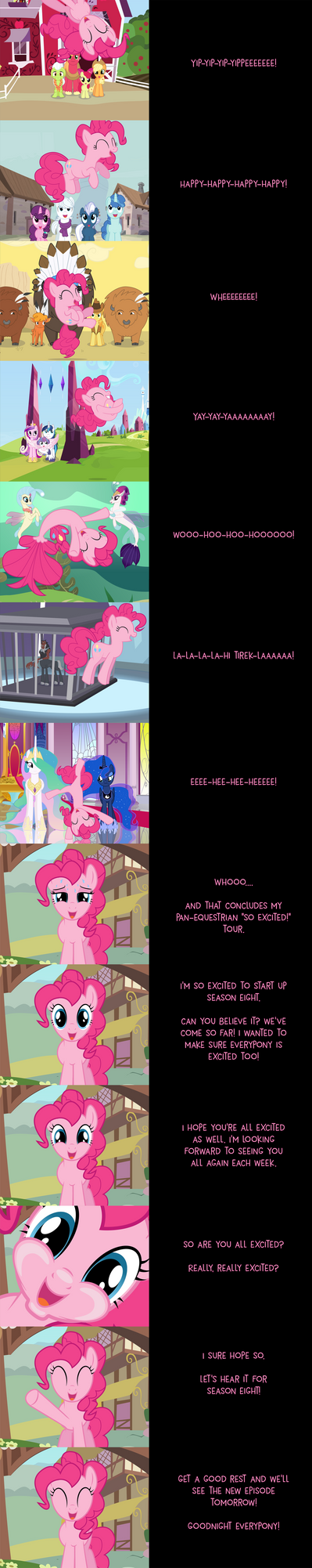 Pinkie Pie Says Goodnight: Grand Tour by MLP-Silver-Quill