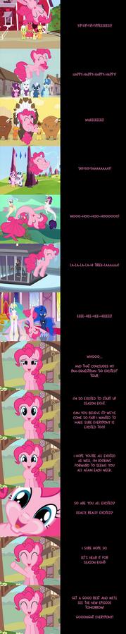 Pinkie Pie Says Goodnight: Grand Tour