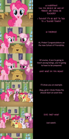 Pinkie Pie Says Goodnight: Schooled