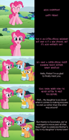 Pinkie Pie Says Goodnight: Mother's Day Wishes