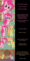 Pinkie Pie Says Goodnight: What a Day!