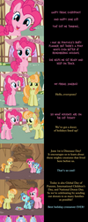 Pinkie Pie Says Goodnight: What a Day! by MLP-Silver-Quill