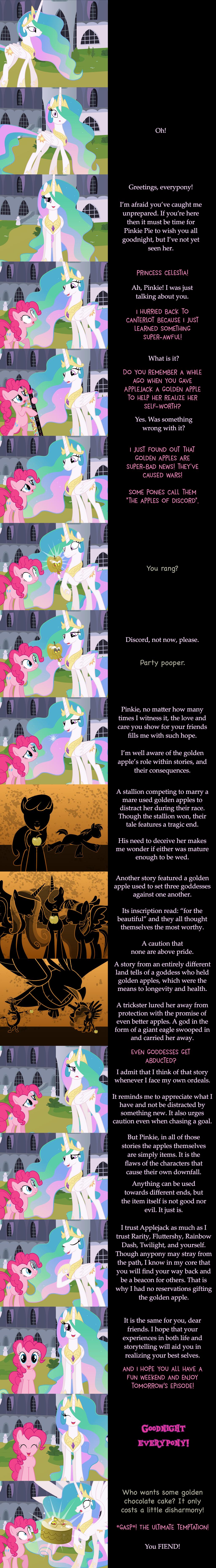 Pinkie Pie Says Goodnight: Apples of Discord