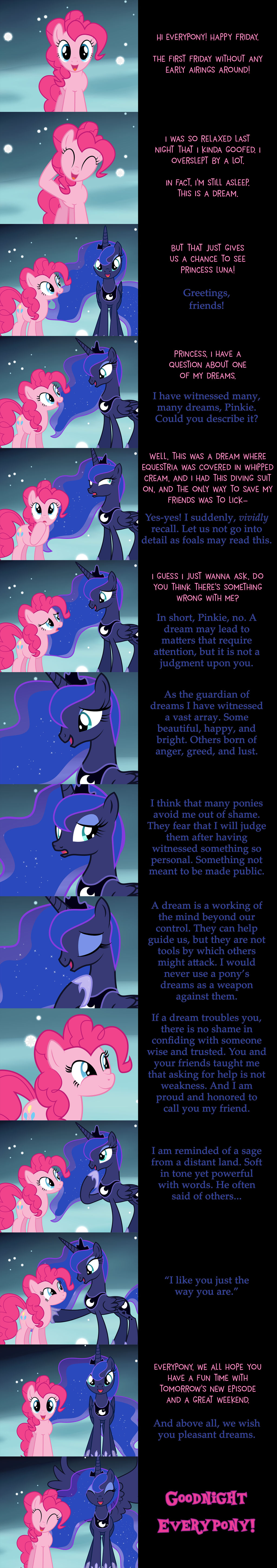 Pinkie Pie Says Goodnight: These Dreams