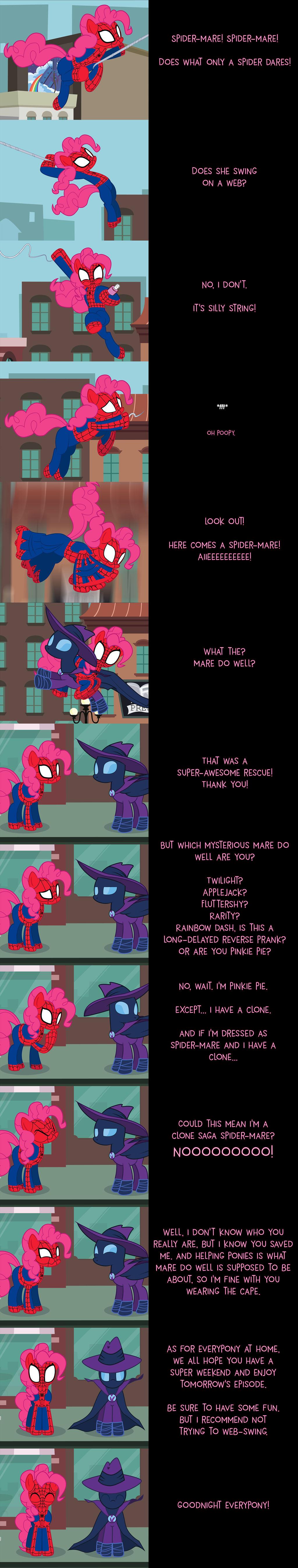 Pinkie Pie Says Goodnight: Spider-Mare