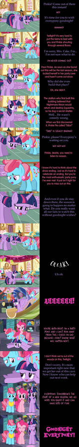 Pinkie Pie Says Goodnight: Bunker Busters