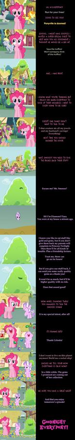 Pinkie Pie Says Goodnight: Smoozer