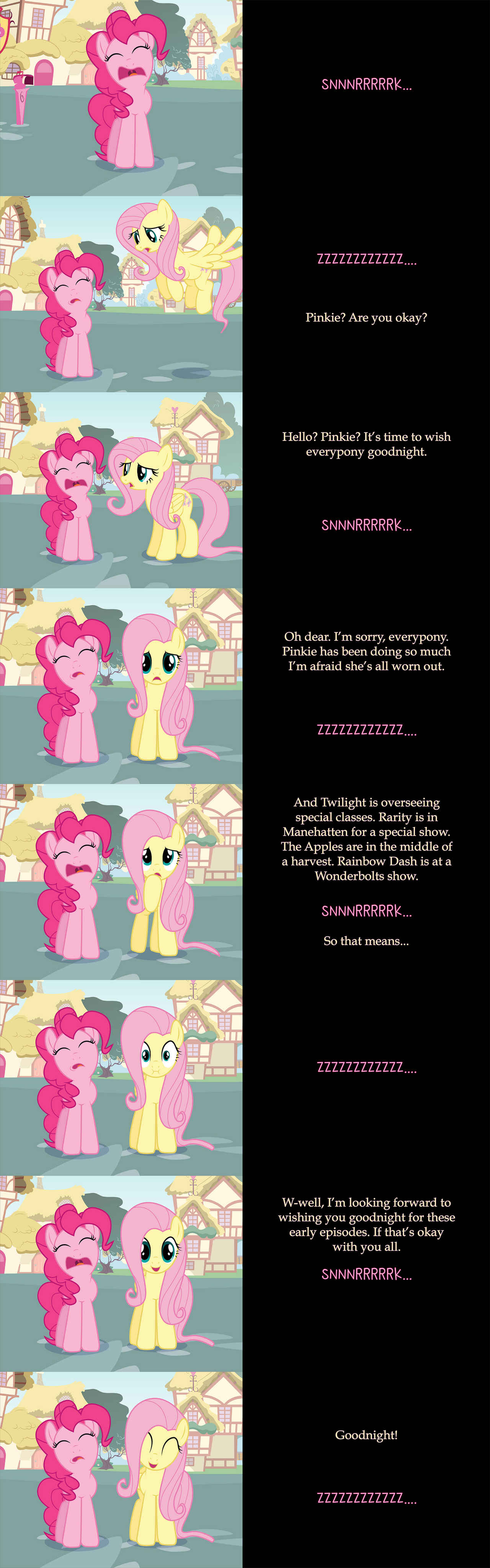Fluttershy Says Goodnight: Substitute
