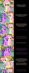 Fluttershy Says Goodnight: Amethyst Star by MLP-Silver-Quill