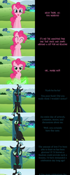 Pinkie Pie Says Goodnight: Chrysalis Day by MLP-Silver-Quill