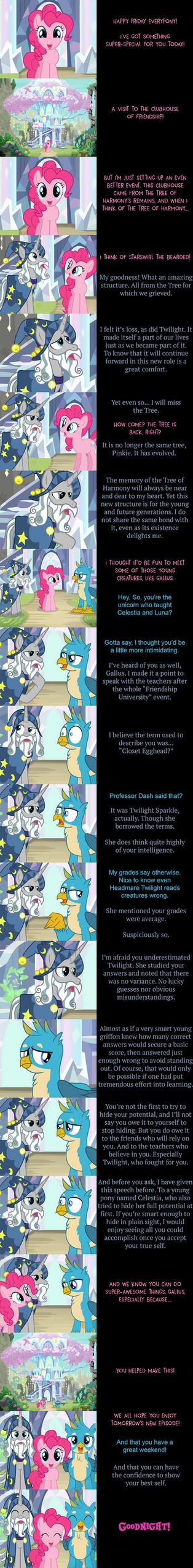 Pinkie Pie Says Goodnight: Plain Sight