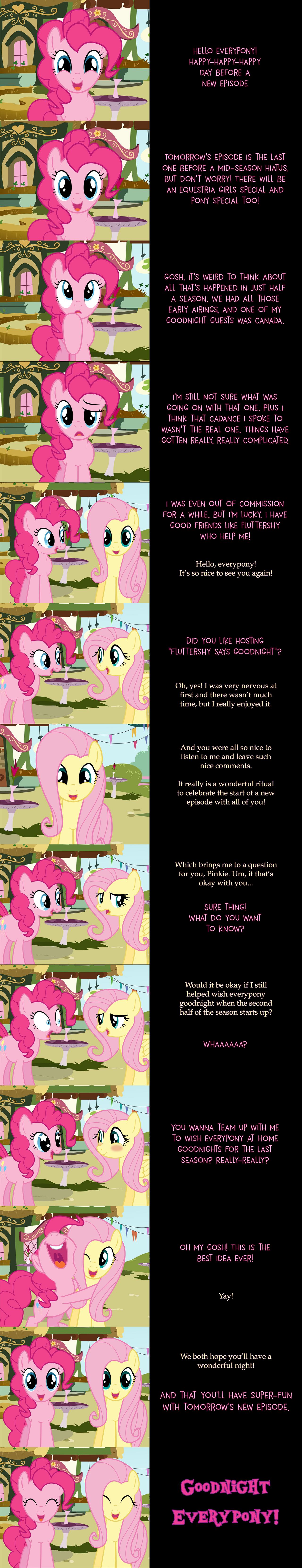 Pinkie Pie Says Goodnight: Partners