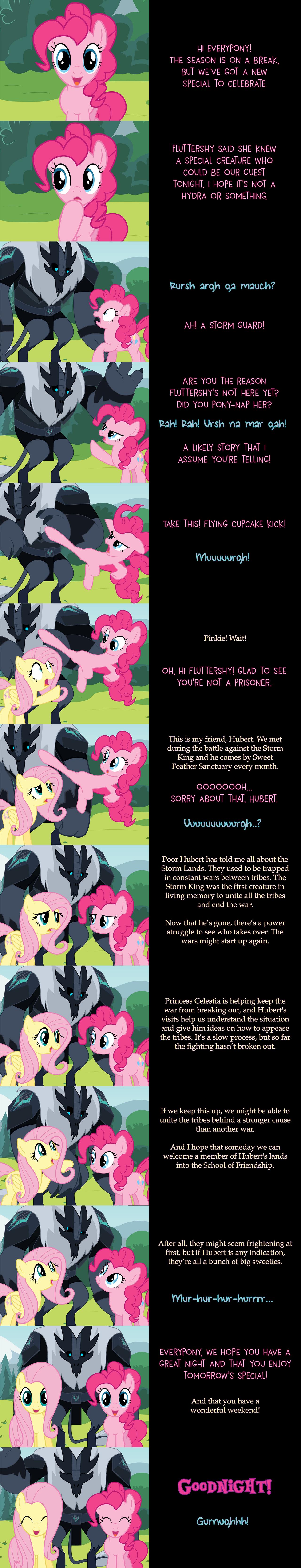 Pinkie Pie Says Goodnight: Storm Guarded