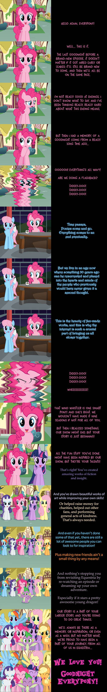 Pinkie Pie Says Goodnight: Your Story