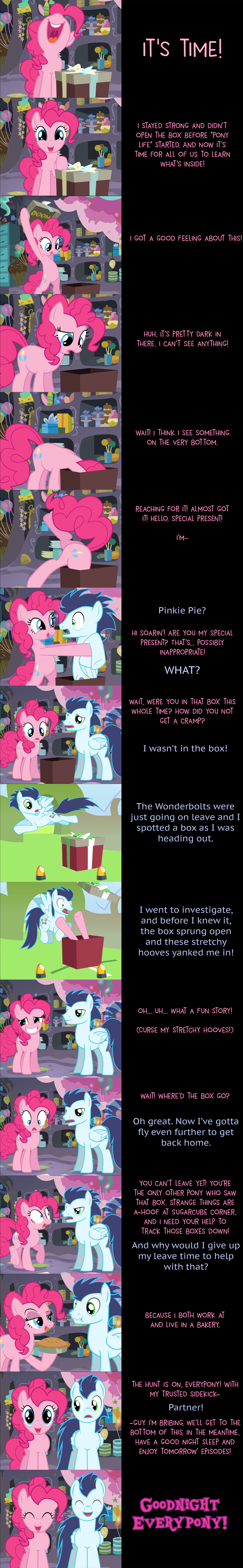 Pinkie Pie Says Goodnight: Unboxing