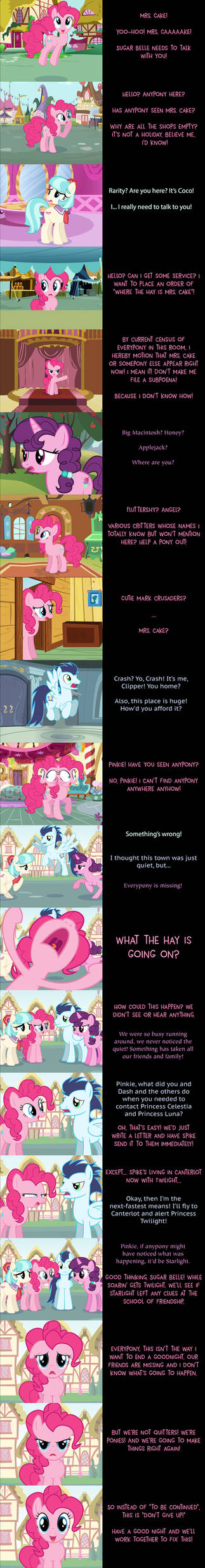 Pinkie Pie Says Goodnight: Missing in Action