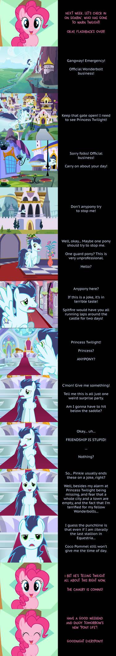 Pinkie Pie Says Goodnight: MIA