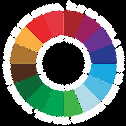 Color Wheel Invitation