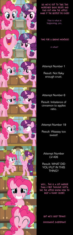 Pinkie Pie Says Goodnight: Baking Bonanza