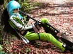 Sinon cosplay (SAO)