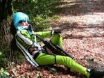 Sinon cosplay (SAO GGO)