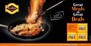Restaurant Promotional Ad