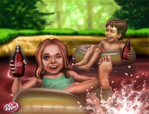 Dr Pepper Lagoon