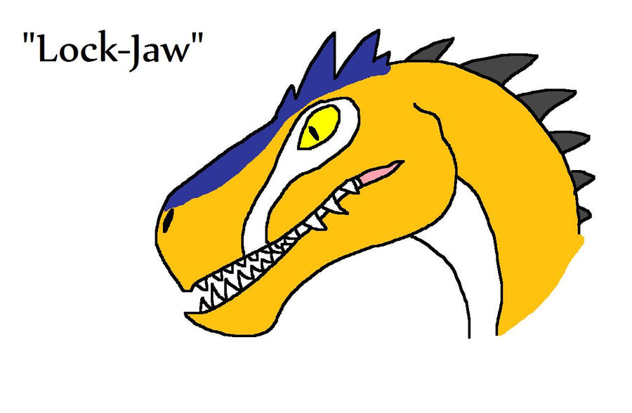 Dinosaur revolution allosaurus broken jaw