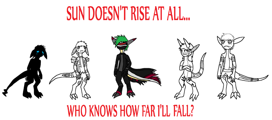'Sun Doesn't Rise' by FeralStormRaptor
