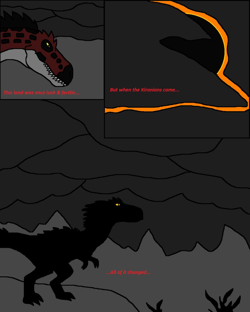 When Worlds Collide p1 by FeralStormRaptor