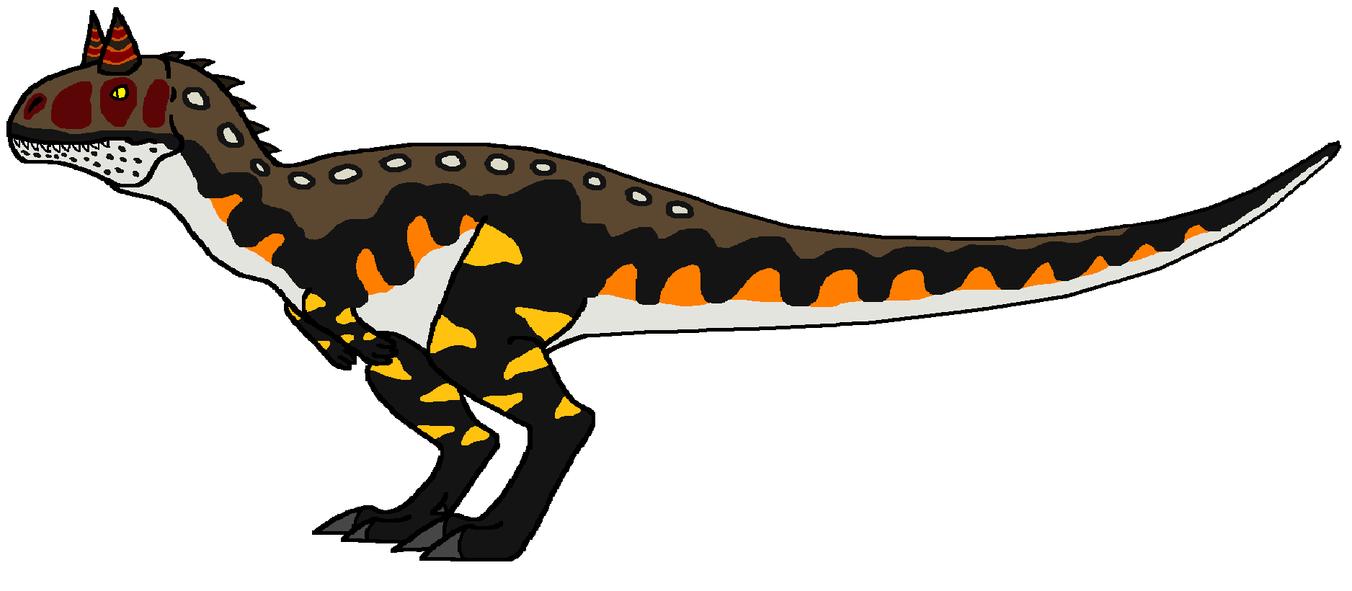 Buck The Carnotaurus. Carnotaurus_by_dinowrassler620-d7c42pz